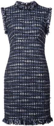 Moschino embroidered sleeveless dress