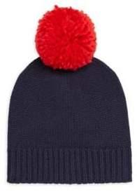 Sundry Pom Pom Wool-Blend Beanie Hat