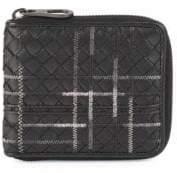 Bottega Veneta Men's Multi-Nero Leather Wallet - Nero
