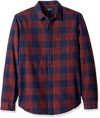 J.Crew Mercantile Men's Long-Sleeve Heathered Gingham Shirt