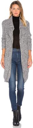 Autumn Cashmere Double Lapel Cardigan $396 thestylecure.com