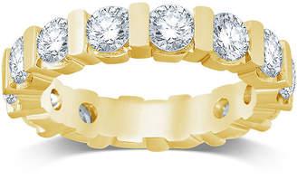 MODERN BRIDE 3 CT. T.W. Diamond 14K Yellow Gold Eternity Band