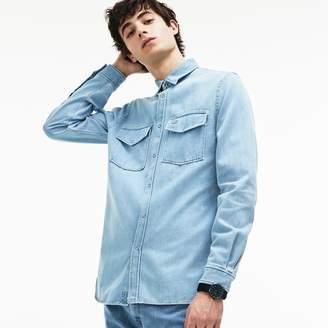 Lacoste Men's Regular Fit Denim Shirt
