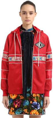 Gucci Magnetismo Hooded Track Jacket
