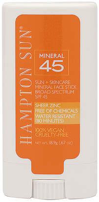 Hampton Sun SPF 45 Mineral Face Stick