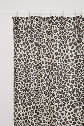 H&M Leopard-print shower curtain