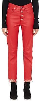 Amiri Women's Leather Crop Pants