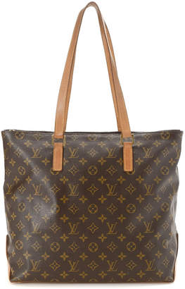 Louis Vuitton Cabas Mezzo Monogram Tote Bag - Vintage