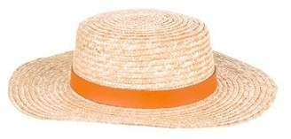 LACK OF COLOR Straw Wide-Brim Hat
