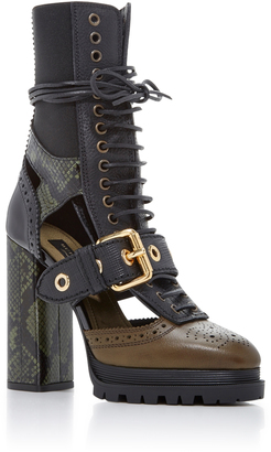 Burberry West Marsh Ankle Boot $1,795 thestylecure.com