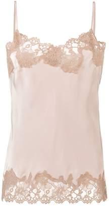 Gold Hawk lace slip vest