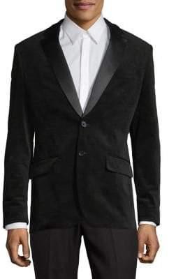 Calvin Klein Slim-Fit Velvet Sportcoat