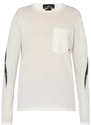 Stone Island Shadow Project - Graphic Printed Top - Mens - White
