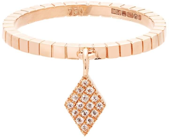 Diane Kordas Diamond & rose-gold Cosmos ring