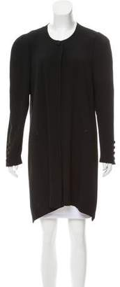 Sonia Rykiel Crepe Knee-Length Jacket