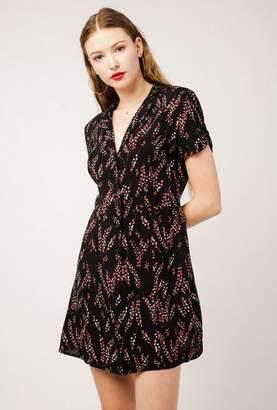 Azalea Mini V Neck Collared Dress
