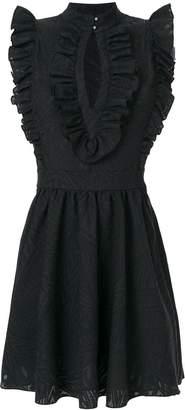 Just Cavalli short ruffled skirt