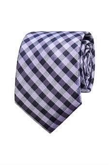 Geoffrey Beene Small Check Tie