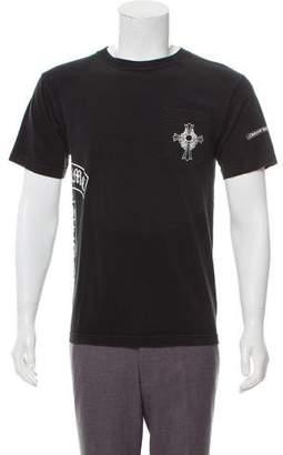 Chrome Hearts Printed Crew Neck Shirt