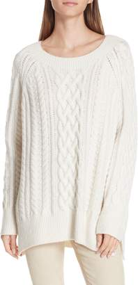 Vince Cable Stitch Tunic Sweater