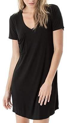 Z Supply The Premium Sleek Jersey Pocket Tee Dress (Extra Small, )