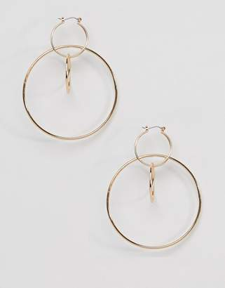 New Look Circle Hoop Loop Earrings
