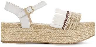 Paloma Barceló fringed platform sandals