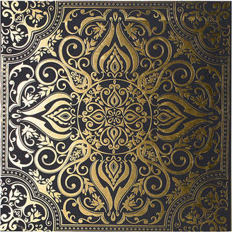 Graham & Brown Golden Souk Tile Metallic Canvas Print