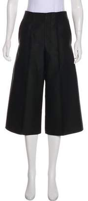 Co High-Rise Cropped Pants