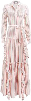 Alexis Pavilla Striped Maxi Dress