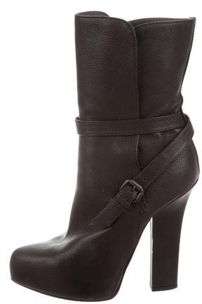 Bottega Veneta Bottega Veneta Leather Ankle Boots