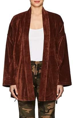 VIS A VIS Women's Corduroy Jacket - Rust
