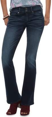 Mudd Juniors' Low-Rise Slim Bootcut Jeans