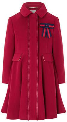 Monsoon Penelope Pleat Coat