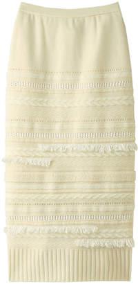 Coohem (コーヘン) - コーヘン ツイードニットスカート