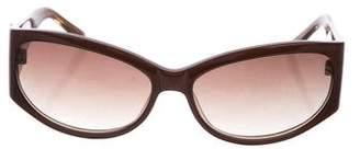 BCBGMAXAZRIA Gradient Logo Sunglasses
