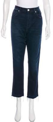 Amo High-Rise Straight-Leg Jeans
