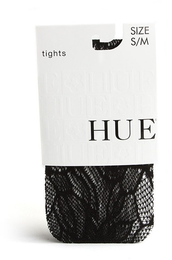 Hue Floral Net Tights