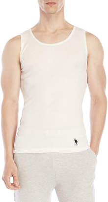 U.S. Polo Assn. 3-Pack Ribbed Tanks