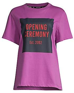 Opening Ceremony Women's Box Logo Tee
