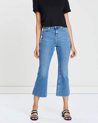 Topshop Mid-Waist Dree Jeans