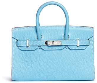 Hermes Vintage Tiny Birkin Epsom leather bag