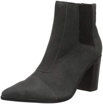 Schutz Women's Pointed Toe Ankle Short Boots Grey Size: 36 (EU)