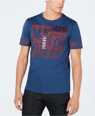 Armani Exchange Men's Varsity Graphic T-Shirt