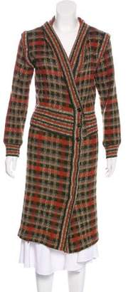 Missoni Long Knit Coat