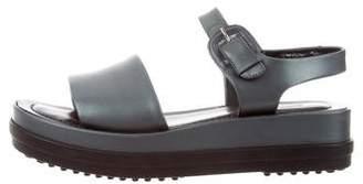 Tod's Platform Leather Sandals