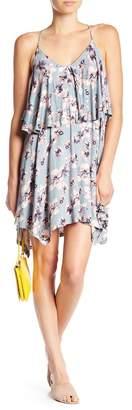 William Rast Elizabeth Floral Popover Dress