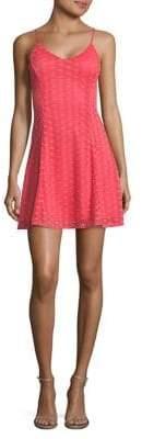 Design Lab Lace A-Line Dress