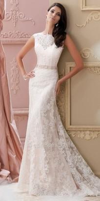 David Tutera for Mon Cheri Bridal Rumer $1,573 thestylecure.com