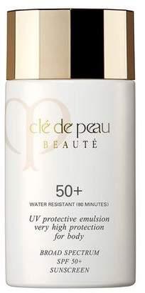 Clé de Peau Beauté UV Protective Emulsion Very High Protection For Body Broad Spectrum SPF 50+, 2.5 oz.
